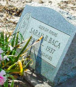 Sarah B Baca