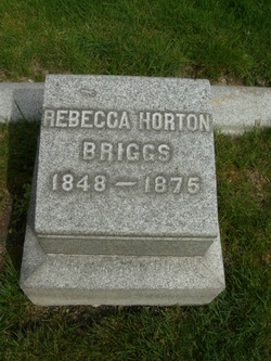 Rebecca <i>Horton</i> Briggs