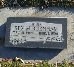 Rex Merrill Burnham
