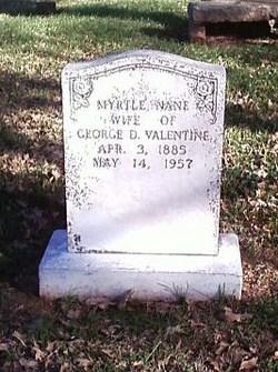 Myrtle Nane <i>Newby</i> Valentine