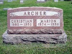 Marion Richman Archer