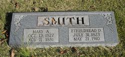 Mary Ann <i>Hanna</i> Smith