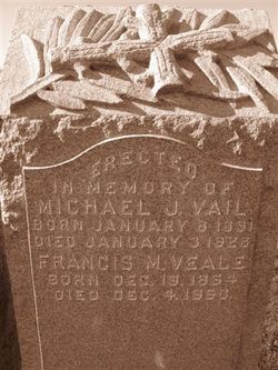 Francis M Frank Vail Veale