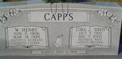 Cora J <i>Davis</i> Capps