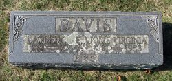 Josie Virginia <i>Miller</i> Davis