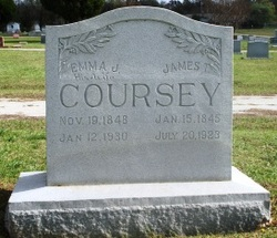 Mrs Emma J <i>Grant</i> Coursey