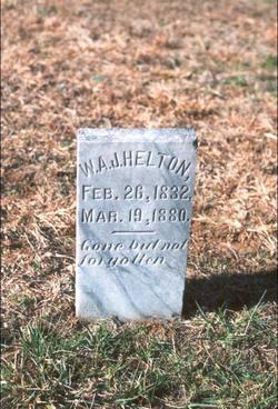 William Andrew Jackson Jack Helton