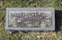 Mary Frances <i>Hensley</i> Dean