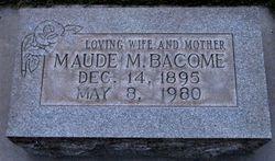 Maude May <i>Bennett</i> Bacome