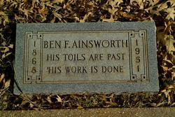 Benjamin F Ainsworth