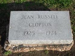 Mrs Jean <i>Russell</i> Clopton