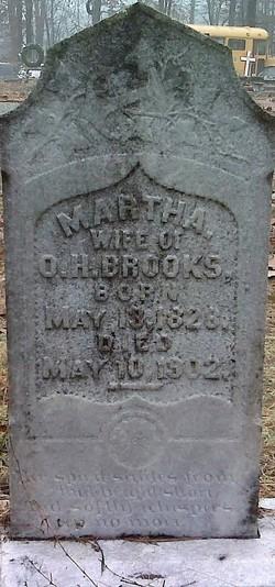 Martha (Patsey) <i>Chandler</i> Brooks