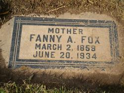 Fannie <i>Moore</i> Fox