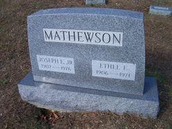 Ethel E <i>Foreman</i> Mathewson