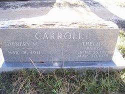 Thelma B <i>Pierce</i> Carroll
