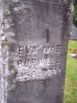 Eva Mae <i>Stephens</i> Burwell