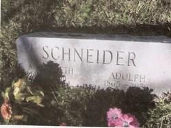 Annie Elizabeth <i>Wied</i> Schneider