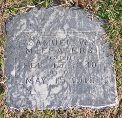 Pvt Samuel Wilson McFeaters