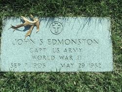 Capt John S Edmonston