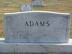 M Rogene Adams