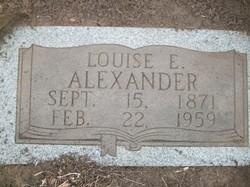 Louise Elizabeth <i>Drew</i> Alexander