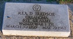 Rex D Bledsoe