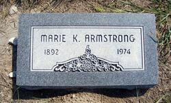 Marie K. <i>Schutt</i> Armstrong