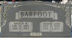 Nannie Lord Barfoot