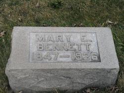 Mary E Bennett