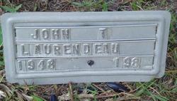 John T Laurendeau