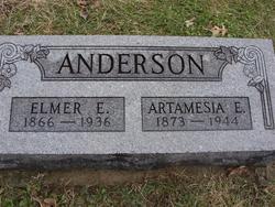 Artamesia E. <i>Scruggs</i> Anderson
