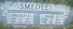 Laura Melinda <i>Hedrick</i> Smedley