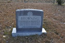 Mary Elizabeth <i>Snell</i> Browning