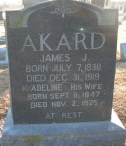 Keziah Adeline Akard