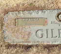 Claudia Bell <i>Green</i> Gilbert