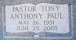 Anthony Paul Pastor Tony Cirigliano