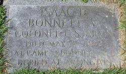 Isaac D Bonnett, V