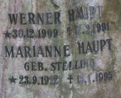 Marianne <i>Stelling</i> Haupt