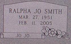 Ralpha Jo Jo <i>Harper</i> Smith