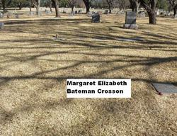 Margaret Elizabeth <i>Bateman</i> Crosson