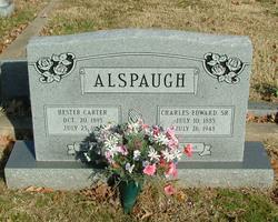 Hester <i>Carter</i> Alspaugh