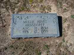 Mellie <i>Hines</i> Arnsdorff