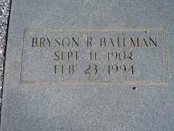 Bryson R Bateman