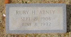 Ruby Dell <i>Harmon</i> Abney