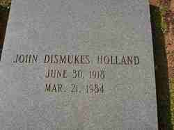 John Dismukes Holland