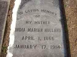 India Marian May Holland