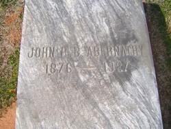 John Rufus Beaty Abernathy