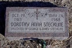 Dorothy Anna Steckline