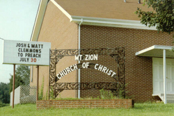 Mount Zion Church of Christ Cemetery