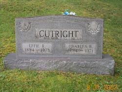 Effie R <i>Cogar</i> Cutright